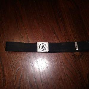 VOLCOM Metal Belt Buckle and Belt n Metal Trim